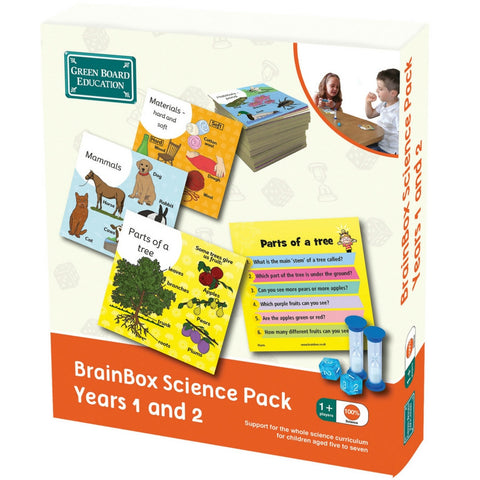 Green Board Education - BrainBox Science Pack Years 1 and 2 | KidzInc Australia | Online Educational Toy Store