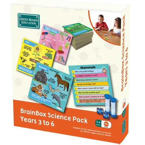 Green Board Education - BrainBox Science Pack Years 3 to 6 | KidzInc Australia | Online Educational Toy Store