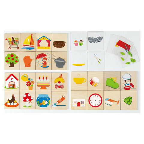 Hape - Combino Wooden Card Learning Game