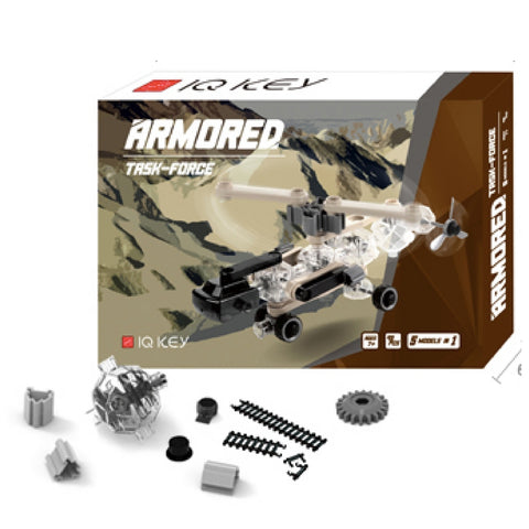 IQ Key - Armored Task Force | KidzInc Australia | Online Educational Toy Store