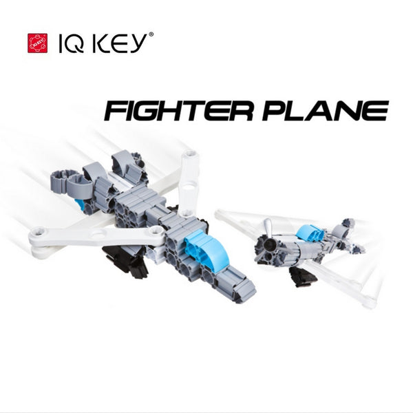 IQ Key - Builder Block Fighter Plane | KidzInc Australia | Online Educational Toy Store