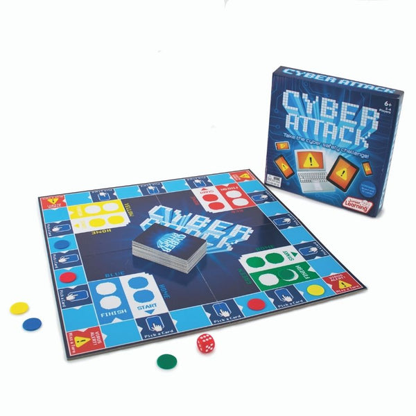 Junior Learning Cyber Attack Game | KidzInc Australia Educational Toys