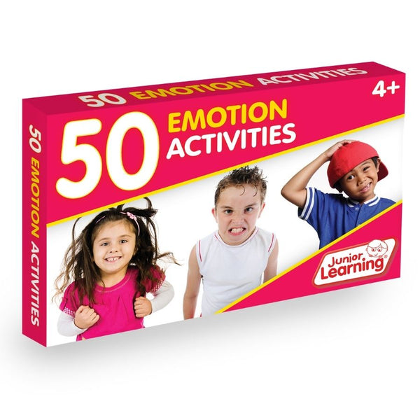Junior Learning 50 Emotion Activities | KidzInc Australia