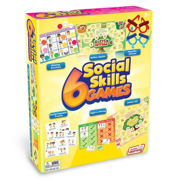 Junior Learning 6 Social Skills Games | KidzInc Australia