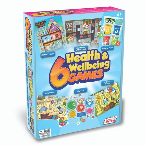 Junior Learning 6 Health and Wellbeing Games| KidzInc Australia Online