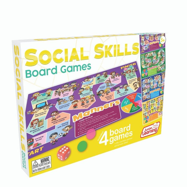 Junior Learning Social Skills Board Games | KidzInc Australia