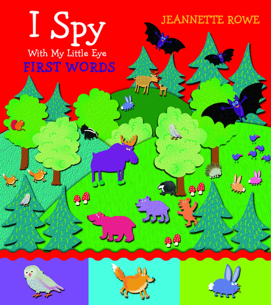 Five Mile Press - I Spy with My Little Eye: First Words | KidzInc Australia | Online Educational Toy Store