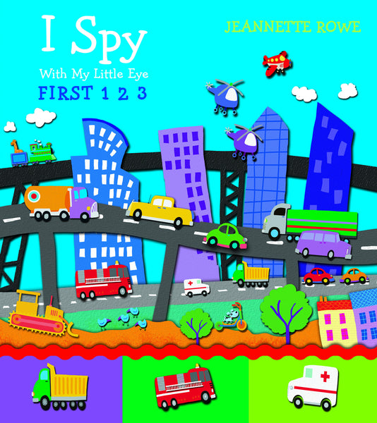 Five Mile Press - I Spy with My Little Eye: First 1, 2, 3 | KidzInc Australia | Online Educational Toy Store