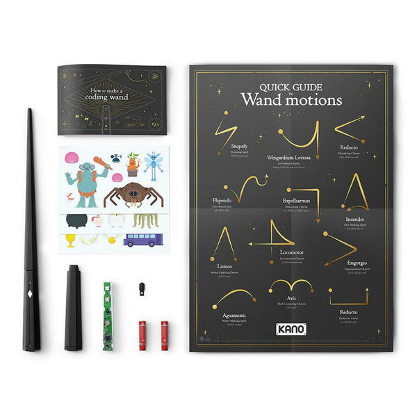 Kano Harry Potter Coding Kit Build a Wand Learn To Code Make Magic 4
