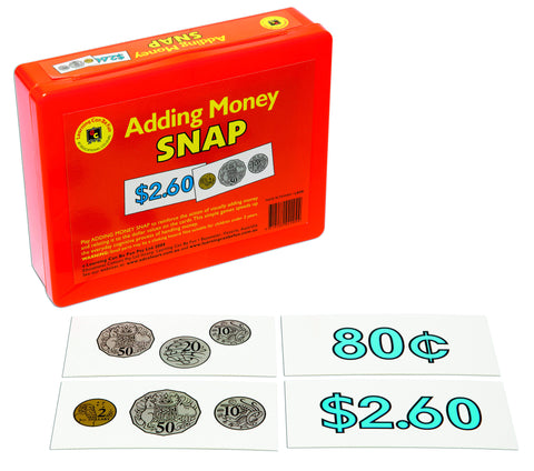 Learning Can Be Fun - Adding Money Snap | KidzInc Australia | Online Educational Toy Store