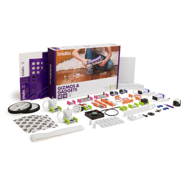 littleBits - Electronics Gizmos & Gadgets Kit | KidzInc Australia | Online Educational Toy Store