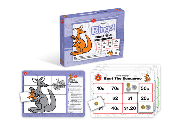 Learning Can Be Fun - Beat The Kangaroo | KidzInc Australia | Online Educational Toy Store