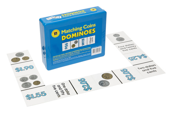 Learning Can Be Fun - Money Dominoes | KidzInc Australia | Online Educational Toy Store