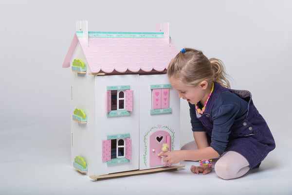 Le Toy Van - Sweetheart Cottage Doll House (with Furniture) | KidzInc Australia | Online Educational Toy Store