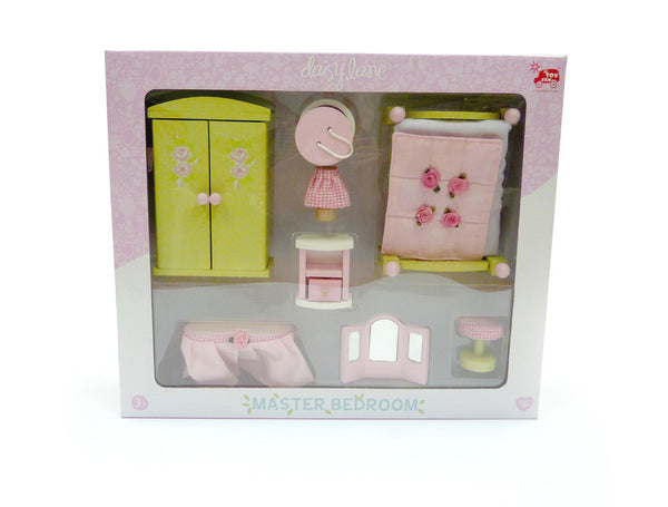 Le Toy Van - Daisy Lane Master Bedroom | KidzInc Australia | Online Educational Toy Store