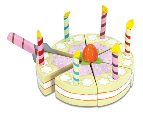 Le Toy Van - Vanilla Birthday Cake | KidzInc Australia | Online Educational Toy Store