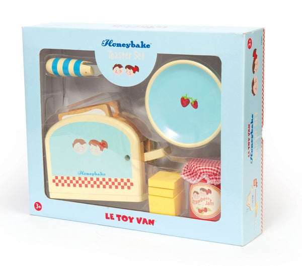 Le Toy Van - Toaster Set | KidzInc Australia | Online Educational Toy Store