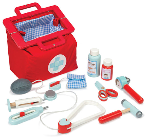 Le Toy Van - Doctor's Set | KidzInc Australia | Online Educational Toy Store