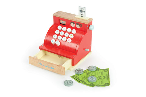 Le Toy Van - Cash Register | KidzInc Australia | Online Educational Toy Store