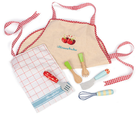 Le Toy Van - Apron and Utensil Set | KidzInc Australia | Online Educational Toy Store