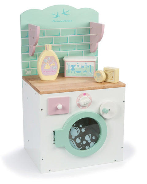 Le Toy Van - Honey Home Washing Machine | KidzInc Australia | Online Educational Toy Store