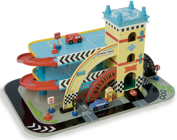 Le Toy Van - Mikes Auto Garage | KidzInc Australia | Online Educational Toy Store