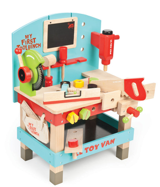 Le Toy Van - My First Tool Bench | KidzInc Australia | Online Educational Toy Store