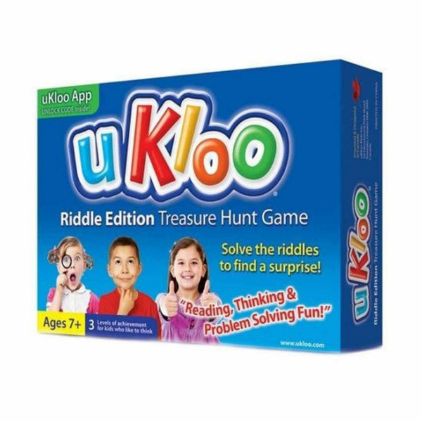 uKloo - Riddle Edition Treasure Hunt Game | KidzInc Australia | Online Educational Toy Store