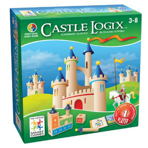 Smart Games - Castle Logix | KidzInc Australia | Online Educational Toy Store
