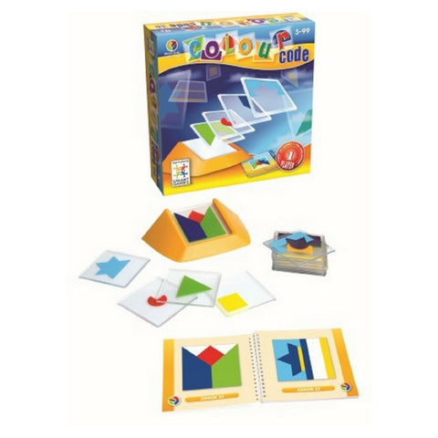 Smart Games - Colour Code Logic Game (Pre-Order) | KidzInc Australia | Online Educational Toy Store