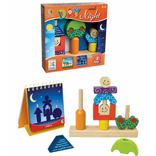 Smart Games - Day and Night | KidzInc Australia | Online Educational Toy Store