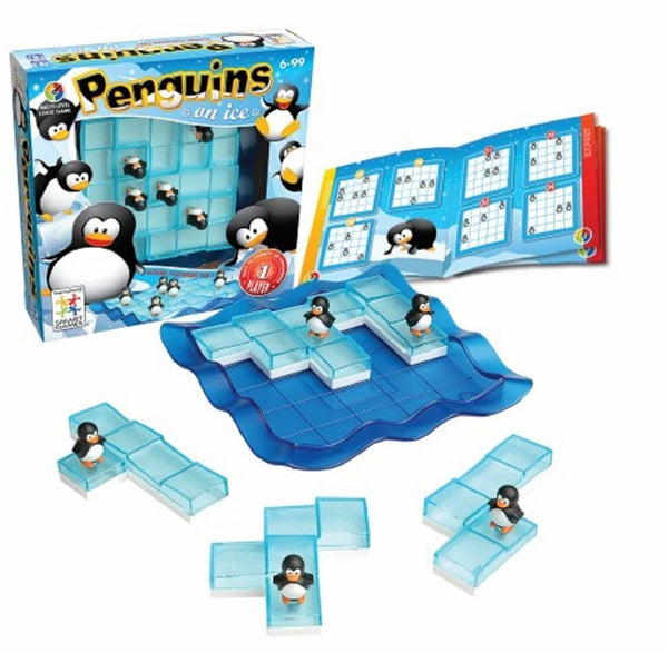 Smart Games - Penguins On Ice | KidzInc Australia | Online Educational Toy Store
