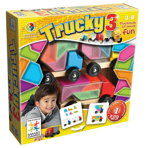Smart Games - Trucky 3 | KidzInc Australia | Online Educational Toy Store