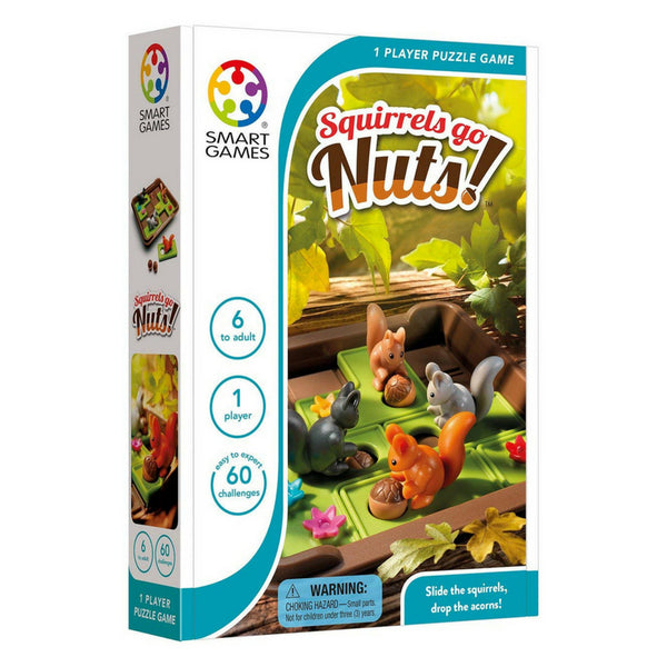 Smart Games Squirrels Go Nuts | KidzInc Australia | Online Toy Shop