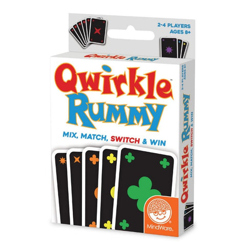 Mindware Qwirkle Rummy Card Game | KidzInc Australia |Educational Toys