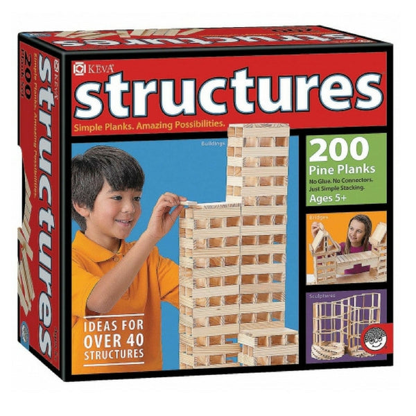 Mindware - KEVA Structures Wooden Planks | KidzInc Australia | Online Educational Toy Store