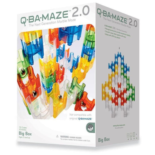 Mindware Q-BA-MAZE 2.0 Big Box | Marble Run | KidzInc Australia | Online Educational Toys