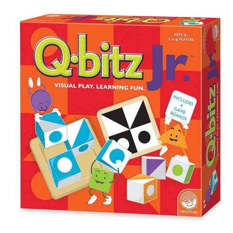 Mindware Q-Bitz Junior Visual Learning Game | KidzInc Australia | Online Educational Toys
