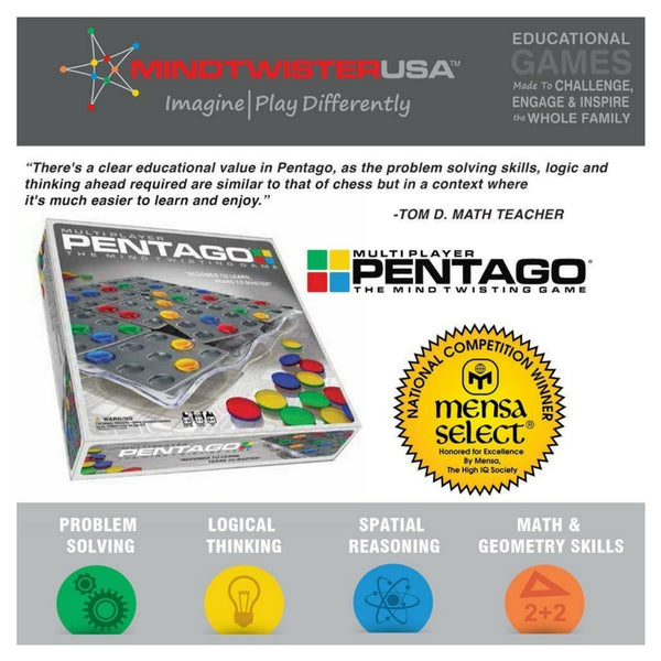 Mindtwister - Pentago Multi Player Game | KidzInc Australia | Online Educational Toy Store