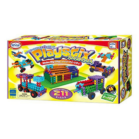 Popular Playthings - Playstix Deluxe Set (211 pieces) | KidzInc Australia | Online Educational Toy Store