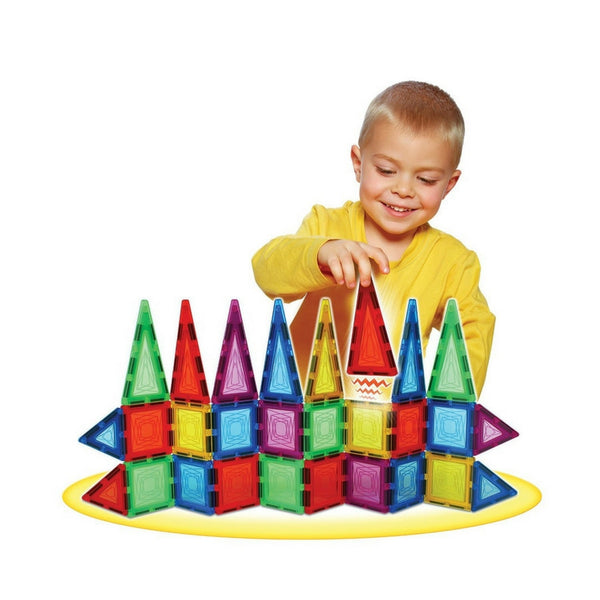 Popular Playthings - MagSnaps 48 Piece Set | KidzInc Australia | Online Educational Toy Store