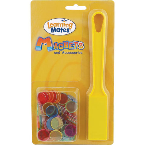 Popular Playthings Magnetic Wand 100 Steel Ringed Chips | Kidzinc Toys