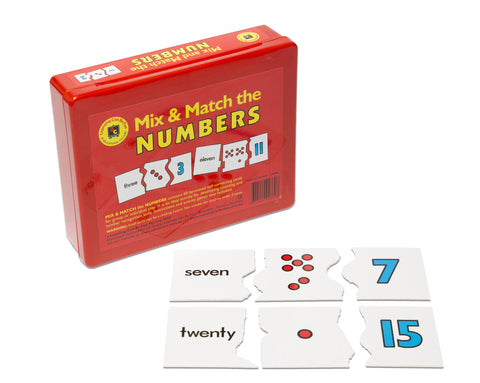 Learning Can Be Fun - Mix and Match The Numbers | KidzInc Australia | Online Educational Toy Store
