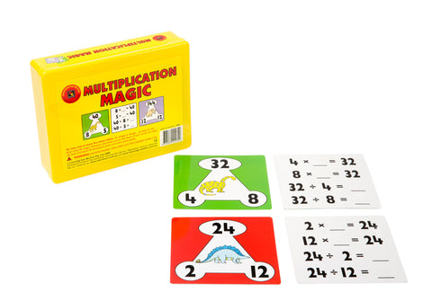 Learning Can Be Fun - Multiplication Magic | KidzInc Australia | Online Educational Toy Store