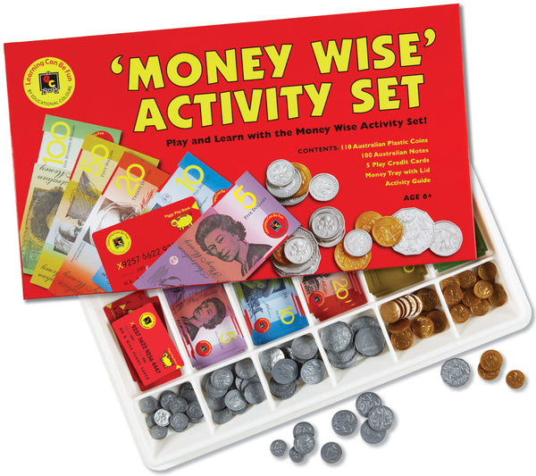 Learning Can Be Fun - Money Wise Activity Set | KidzInc Australia | Online Educational Toy Store