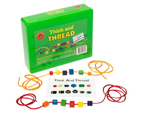 Learning Can Be Fun - Think And Thread | KidzInc Australia | Online Educational Toy Store