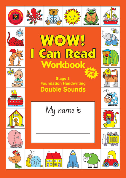 Learning Can Be Fun - WOW! I Can Read Workbook Stage 3 Double Sounds (NSW) | KidzInc Australia | Online Educational Toy Store