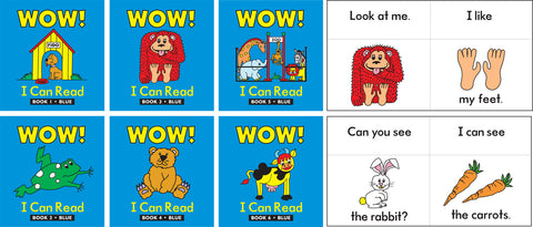 Learning Can Be Fun - WOW! I Can Read Set 1 | KidzInc Australia | Online Educational Toy Store