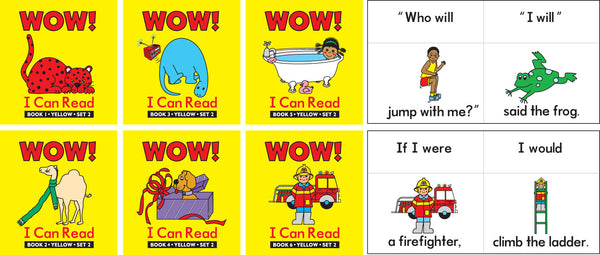 Learning Can Be Fun - WOW! I Can Read Set 2 | KidzInc Australia | Online Educational Toy Store