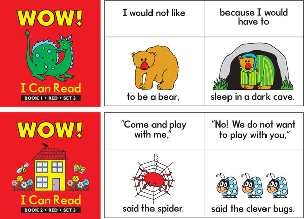 Learning Can Be Fun - WOW! I Can Read Set 3 | KidzInc Australia | Online Educational Toy Store